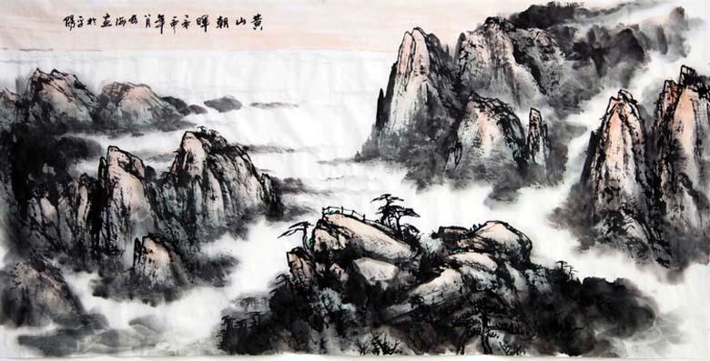 吴长海书画,水墨,淮北著名书画家图片