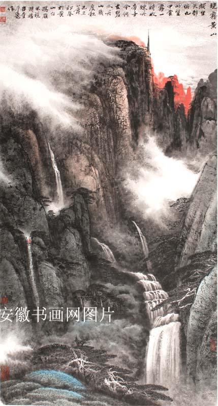 童乃寿画展在安徽省博物馆开幕
