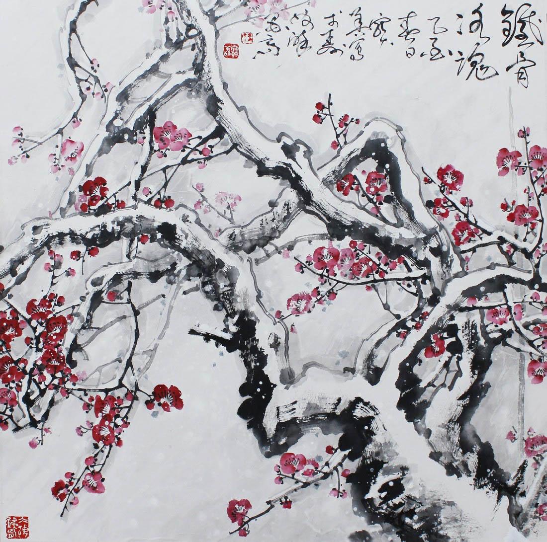 朱宝善,著名画家,安徽当代八老_安徽国画网_安徽书画网图片