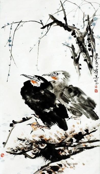 朱宝善,著名画家,安徽当代八老之一_安徽国画网_安徽图片