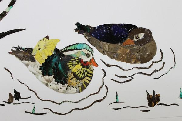 中国竹笔画首创第一人,曾多次在国家,省市举办个人蝴蝶艺术展.